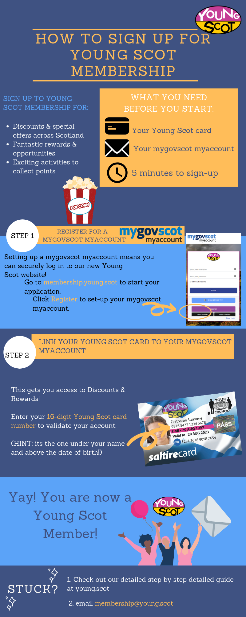 How to Become a Young Scot Member | Young Scot